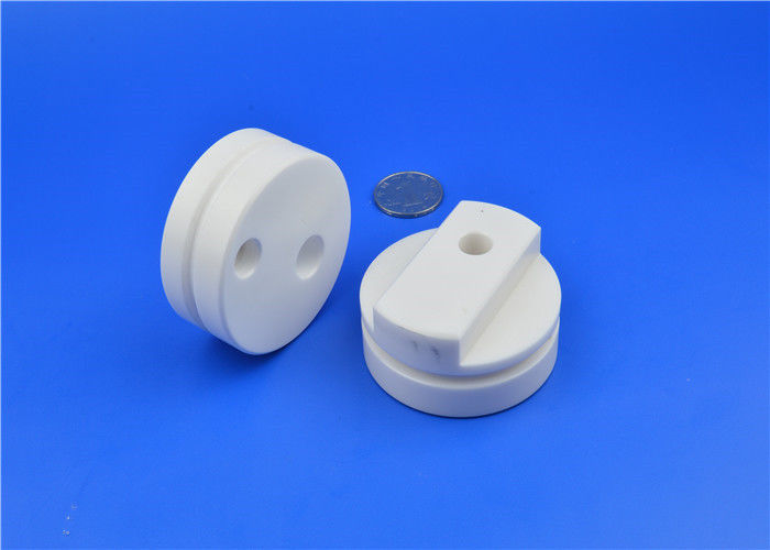 High Precision Ceramic Valve Block Insulating Ceramic Parts  With Smooth  Surface